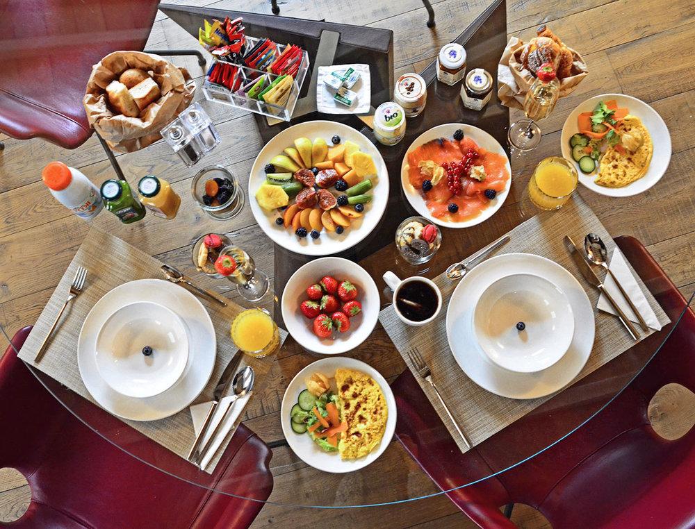 Breakfast at Palazzo Scanderberg