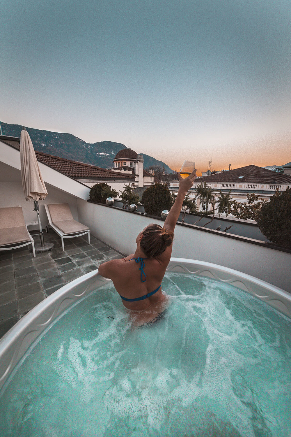 Jacuzzi - imperial Art Hotel