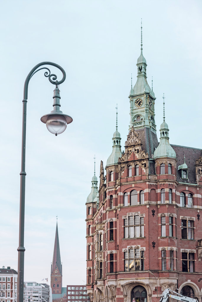 germany hamburg town