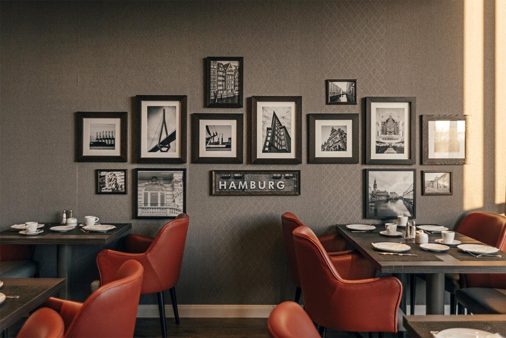 Holiday Inn Hamburg: Restaurant Elbgarten