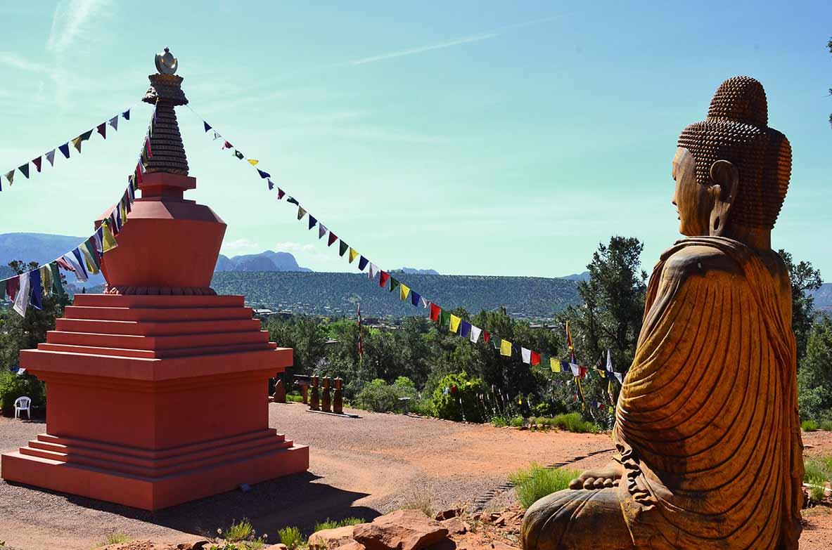 stupa energy vortex sedona