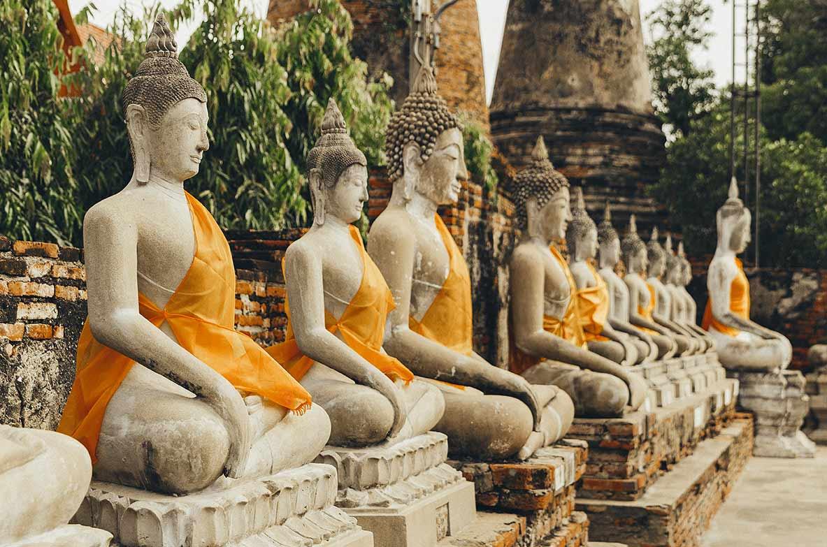 ayutthaya wat yay mongkol