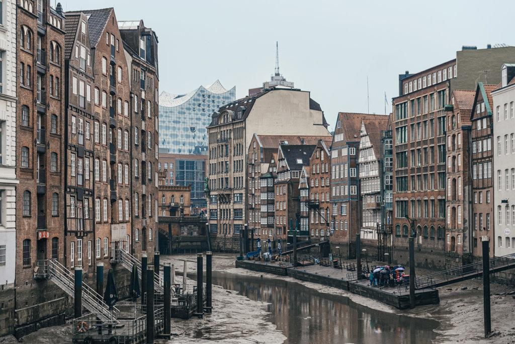 Nikolaifleet Canal Hamburg