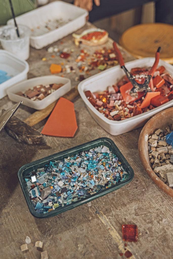 mosaico mondaino romagna