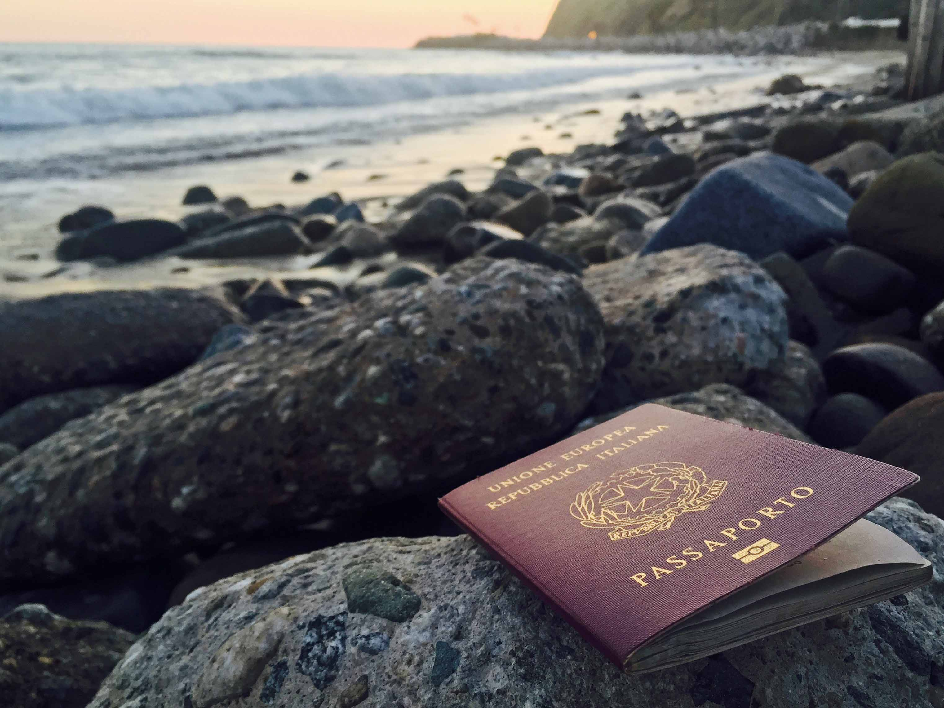 passport sea ocean