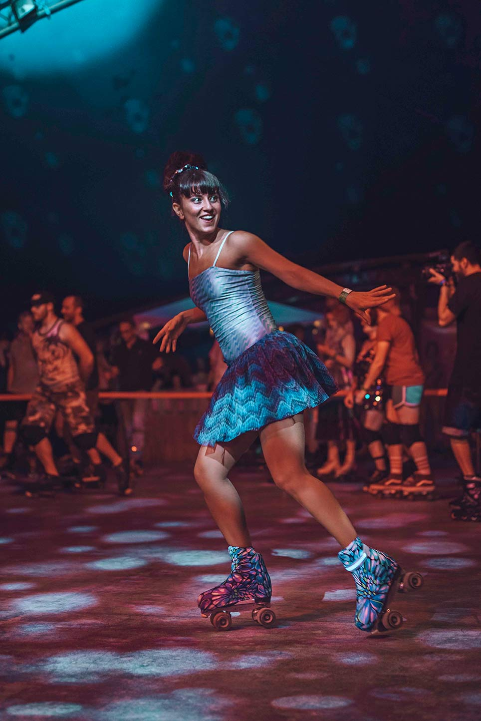 roller disco party barcelona
