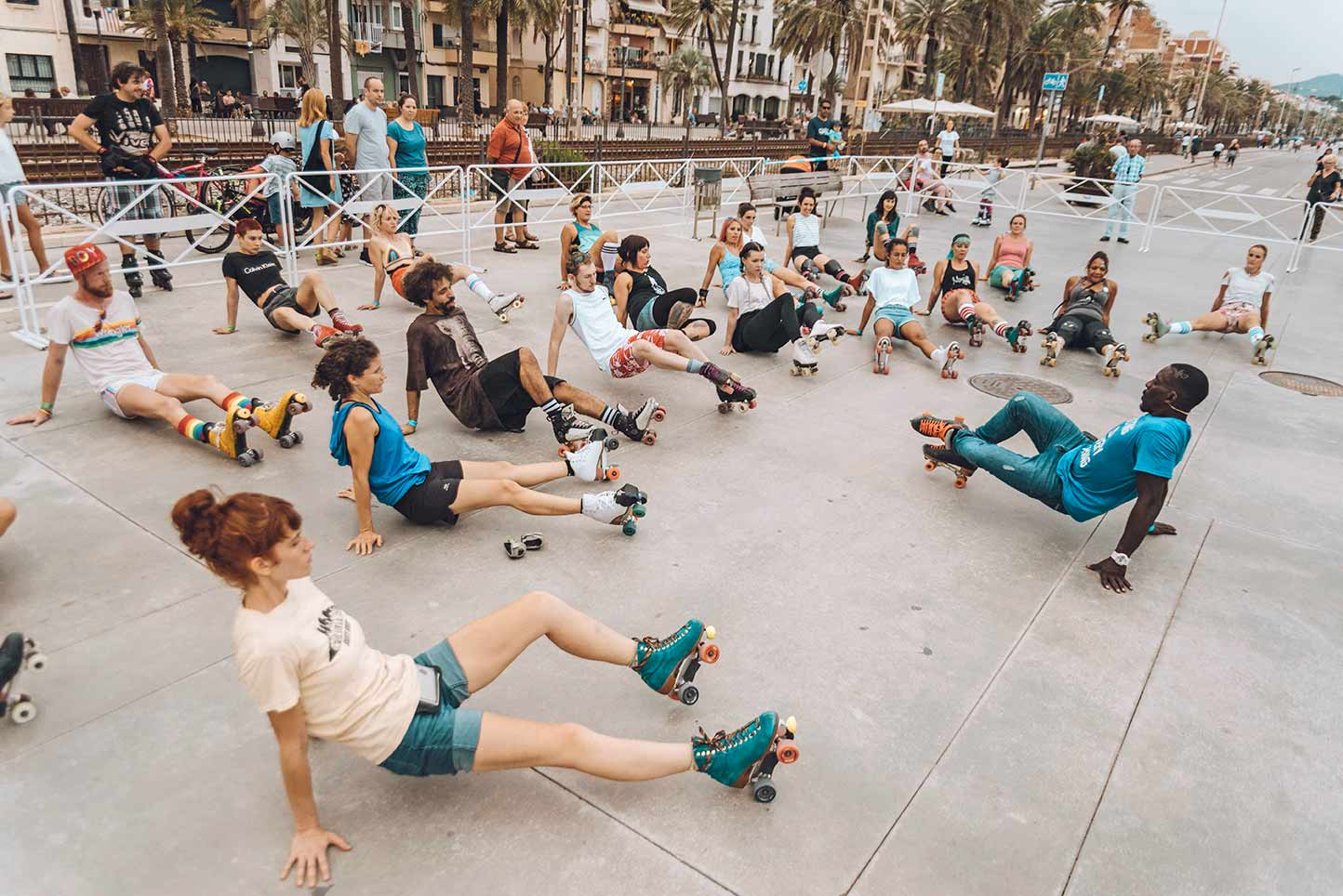 skate workshop barcelona beach