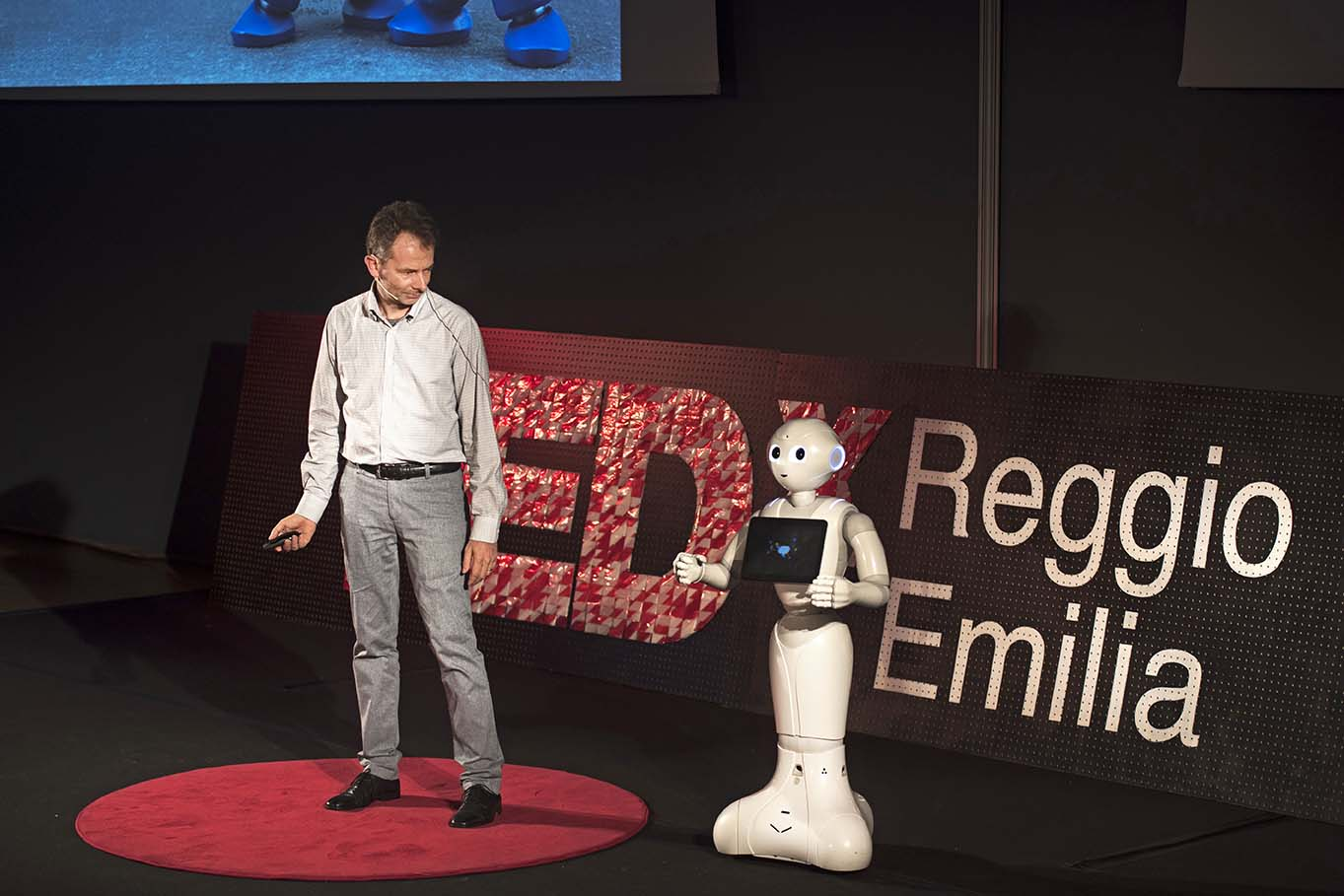 tedx pepper robot