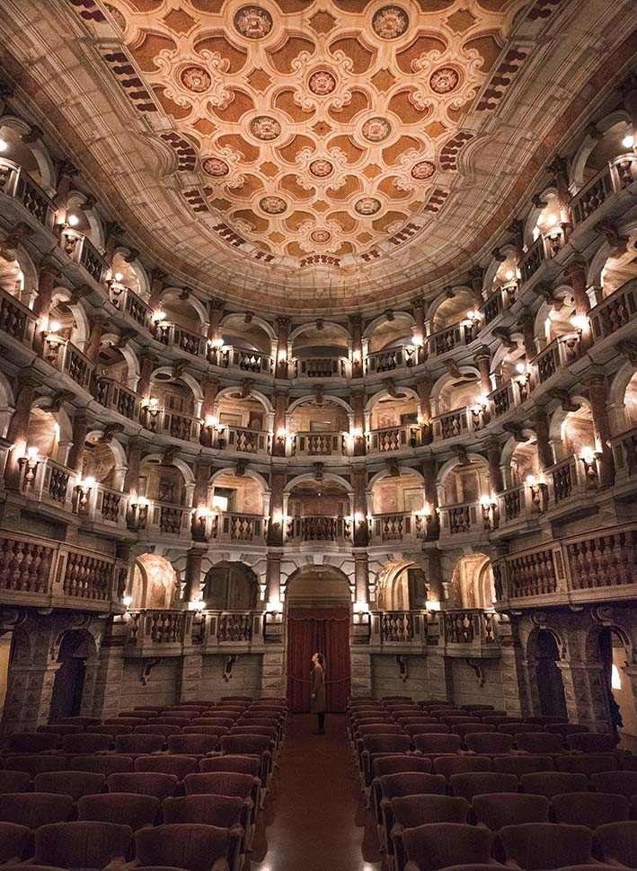 teatro scientifico bibiena mantova