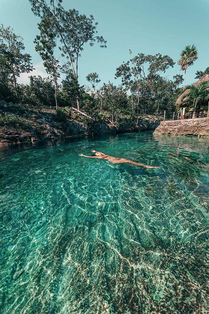 Cenote Zacil Ha Mexico