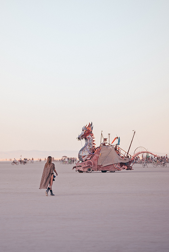burning man 2019 girl dragon