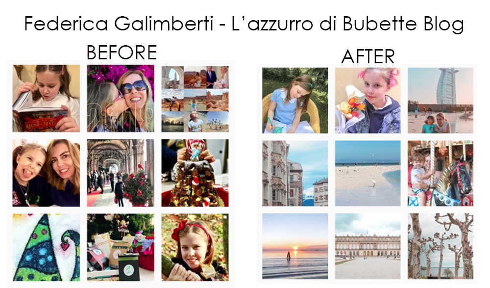 Before and after - ritocco fotografico